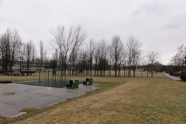 Park športovcov.