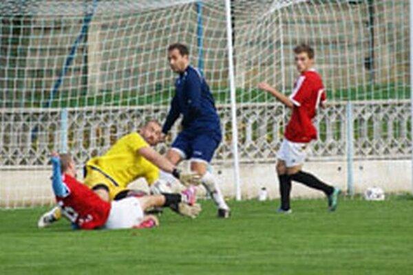 V minulom kole sa v zápase Tovarníky - Solčany zrodila remíza 0:0.