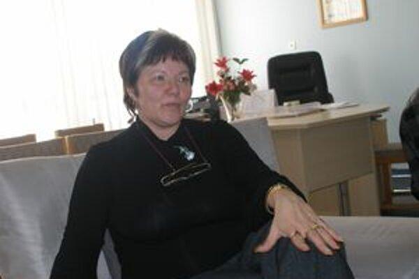 Riaditeľka Marta Eckhardtová.