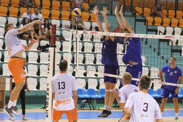 Pohár rektora SPU v Nitre vyhrali volejbalisti poľského klubu BBTS Bielsko-Biala.