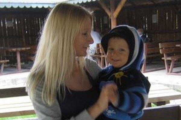Daniela Pargáčová a jej syn.
