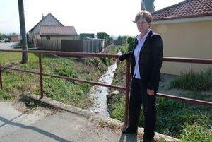 Starostka Ľubica Petráková by chcela s protipovodňovými opatreniami pokračovať.