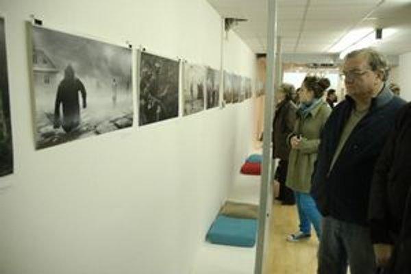 Výstava návštevníkov zaujala.