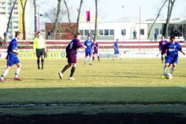 Topoľčany prehrali vonku 1:3.