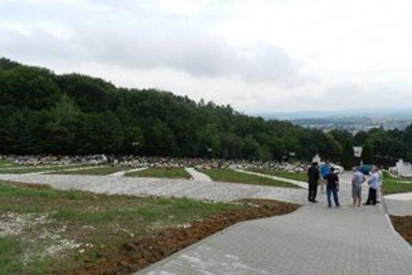 Cintorín na Šípku.