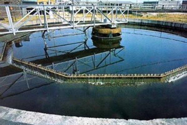 Čistička odpadových vôd.