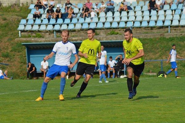 V popredí zľava M. Andrášik, M. Dudáš a N. Homola.