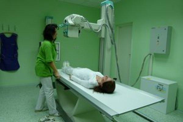 Nový röntgen. Pacienti naň dlho čakali.