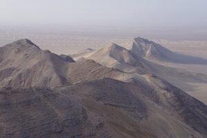Stratení v iránskej púšti.