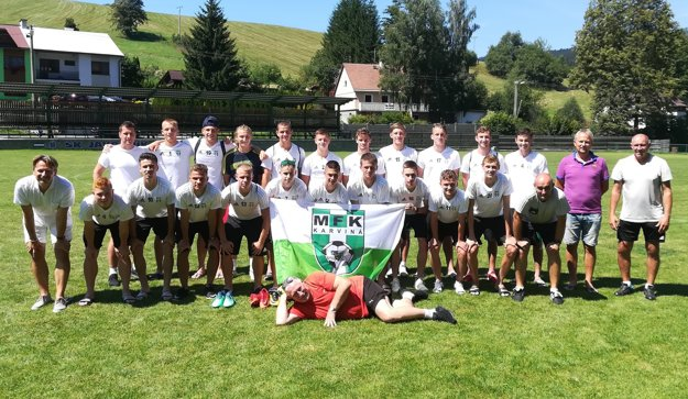 MFK Karviná U19 na sústredení v Makove.