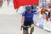 Talianka Pirroneová víťazí v pretekoch junioriek na MS v cyklistike 2017 v nórskom Bergene.
