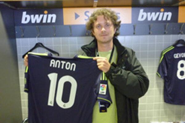 Na Antona Hippíka čakal dres Realu Madrid s jeho menom.