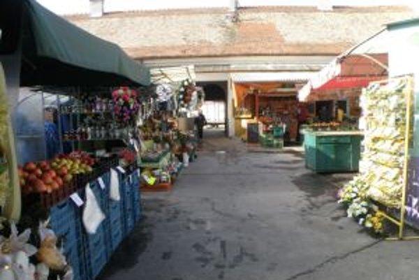 Dnešná podoba pamätihodnosti. Tržnicu čakajú rozsiahle opravy.