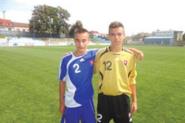 Topoľčanci - Patrik Grman a Dávid Šípoš.