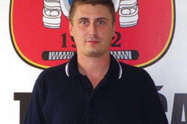 Ervín Mik - generálny manažér topoľčianskych hokejistov.