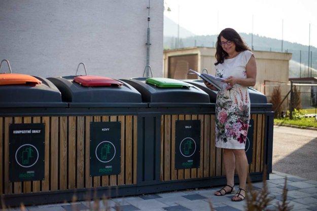 Polopodzemné kontajnery sú podľa nej moderným, efektívnym a pekným riešením odpadového hospodárstva na žilinských sídliskách