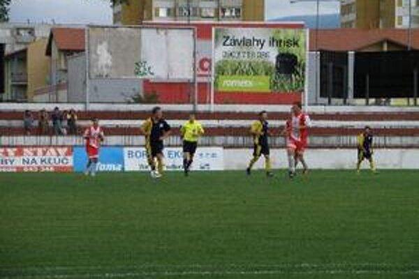Topoľčany doma vyhrali 2:1.