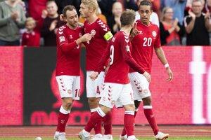 Dánski futbalisti.