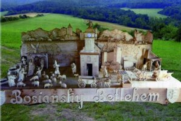 Betlehem je vvystavený v bošianskom dome kultúry.