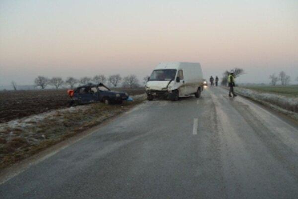 Tragická nehoda sa stala pri Urminciach.
