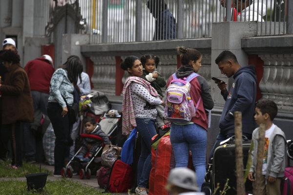 Brazília prijala vyše 30-tisíc Venezuelčanov.