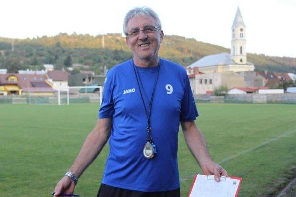 Jozef Šino, tréner MŠK Tatran Krásno nad Kysucou.