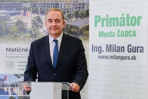 Milan Gura bude kandidovať na post primátora Čadce.