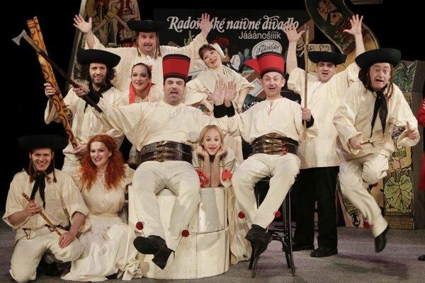 Legendárna hra na slovenskú legendárnu tému Jááánošííík po tristo rokoch Stanislava Štepku a Radošinského naivného divadla, prichádza v stredu do Košíc.