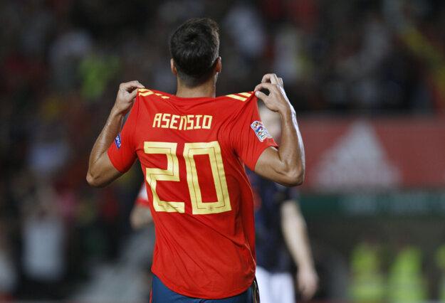 Marco Asensio bol hviezdou Španielska.