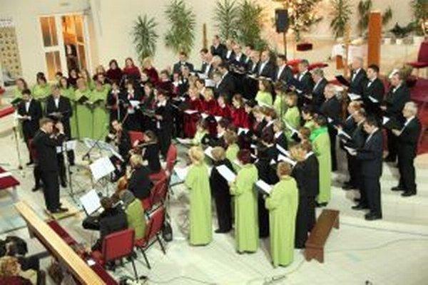 Koncert troch zborov.