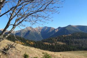Takýto je pohľad z Babiek na Západné Tatry, Príslop a Baníkov.