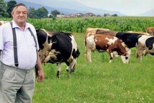 Alexander Velitš pracuje v poľnohospodárstve celý život.