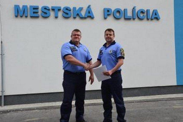 Zľava Igor Húska a Michal Migát.