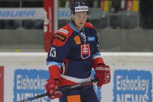 Slovenský hokejista Bruno Mráz.