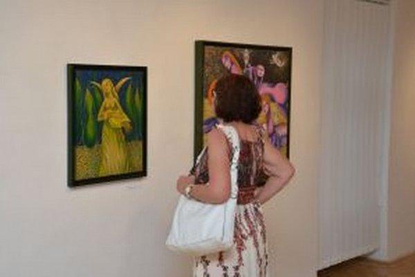 Andrej Augustín v Turčianskej galérii.