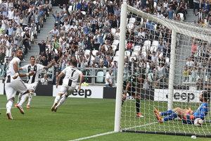 Cristiano Ronaldo sa raduje po jednom zo svojich gólov.