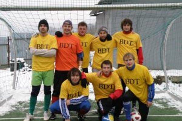 Borovička Dream team vyhral všetkých päť zápasov.