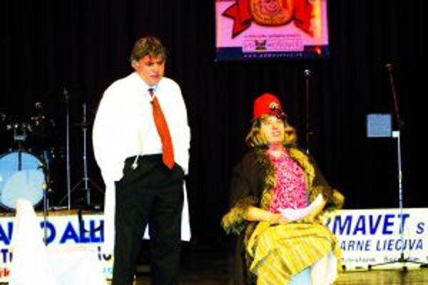 Takto ho poznáme. Ján Šesták (vpravo) a Marián Bumbala sú vo svojich scénkach nezameniteľní.