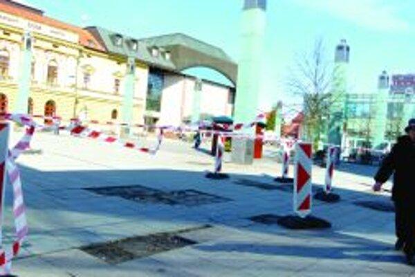 Martinska pešia zóna má svoje čaro.