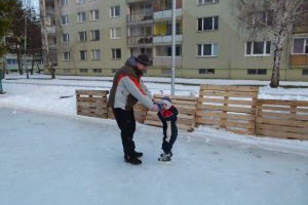 Prvé kroky na ľade.