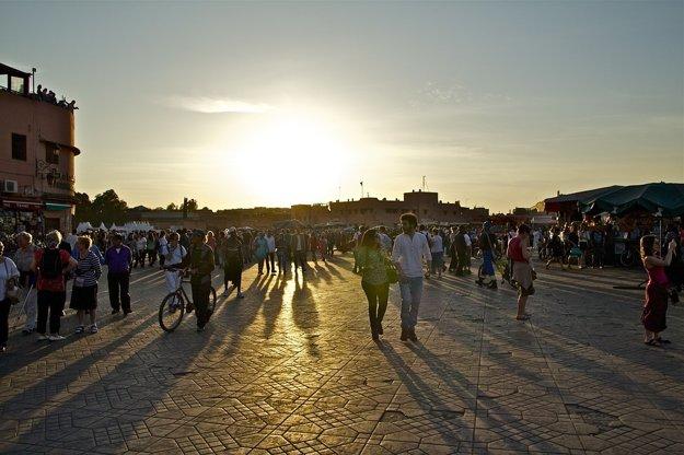 Najlepším obdobím na návštevu Marakéša je jar a jeseň.
