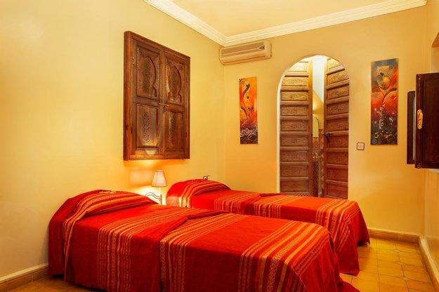 Hotel Riad La Kahana 4*, Marakéš.
