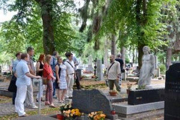 Delegácia z Ukrajiny navštívila aj Národný cintorín.