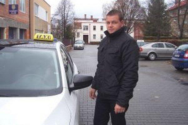 Michal Štilec, predseda cechu martinských taxikárov.