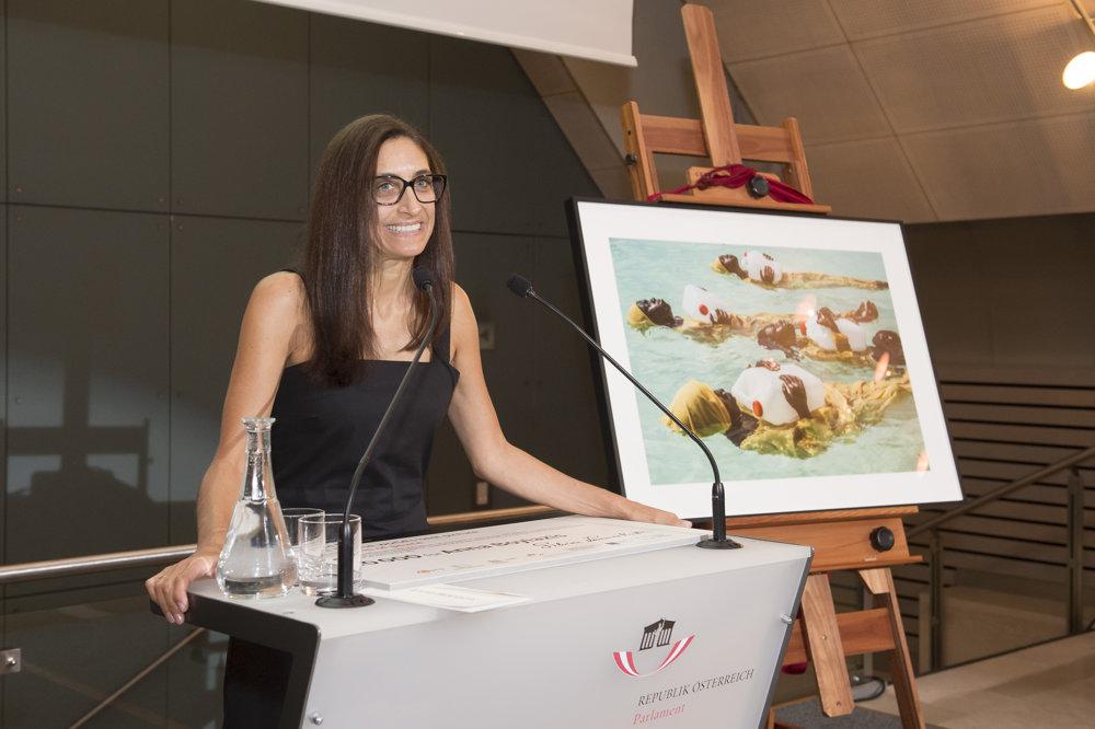 Anna Boyiazis, autorka víťaznej fotografie.