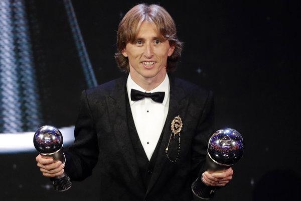 Luka Modrič, najlepší futbalista sveta za rok 2018.