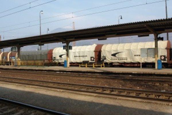 Železničná stanica vo Vrútkach.