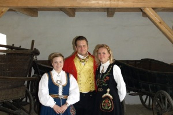 Christine, Per Torgeir a Kaja sú študenti medicíny v Martine. V Deň ústavy si doma obliekajú kroje a idú do ulíc. Ukázali to aj Martinčanom.