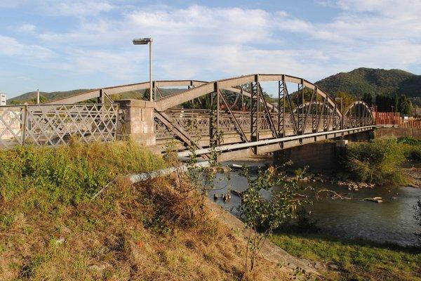Valaškovský most v roku 2012.