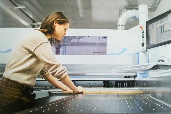 Najmodernejšie strojové technológie v školských dielňach, ktoré zafinancoval NSK v celkovej hodnote 165 000 eur.